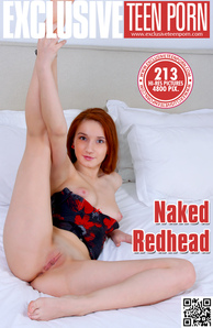 Exclusive Teen Porn - Anna - Naked Redhead